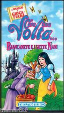 C'era una Volta.. BIANCANEVE E I SETTE NANI (0) VHS Deltavideo -  Rankin - Bass