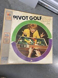 Pivot Golf Miniature Milton Bradley Lucy Lucille Ball Rare Vintage 4360 Complete
