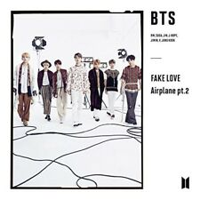BTS FAKE LOVE Airplane pt.2 First Limited Edition Type C CD Photobooklet Japan