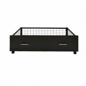 Under Bed Metal Storage Drawers - Various Colours Pack of 2