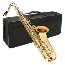 Axiom Tenor Saxophone Beginner Tenor Sax for Student with Case 2 Year Warranty