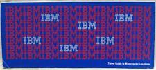 IBM CORPORATION WESTCHESTER NEW YORK CAMPUS BROCHURE GUIDE 1979 VINTAGE