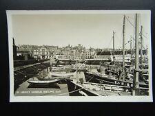 More details for scotland shetland isles lerwick harbour & fishing fleet c1950s rp postcard