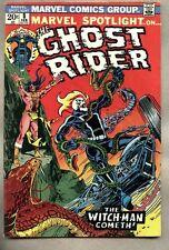 Marvel Spotlight #8-1973 vg 4th solo Ghost Rider