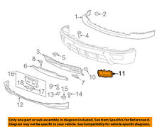 Chevrolet GM OEM Front Bumper-Foglight Fog Light Bezel Trim Right 22944877