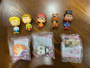 McDonald's HAPPY MEAL TOYS SCOOB SCOOBY Collection 2020 Full Set of 8