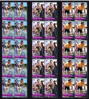 BERNARD HINAULT TOUR DE FRANCE CYCLING SETOF 3 VIGNETTE STAMPS 1