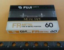 FUJI FRmetal 60 TYPE IV Metal Bias Tape Cassette FR NEW SEALED ! FREE SHIPPING