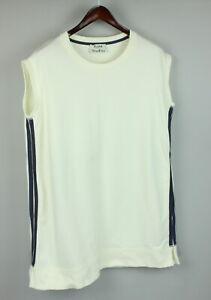 ACNE STUDIOS ATLAS SHORT SS14 Women's L Sleeveless Tank Sweatshirt Dress JL5930_