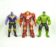 "3 pcs Marvel HULK BUSTER 7"" Action Figure Toy Avengers: Infinity War Thanos Hulk"