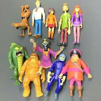 Lot 10x Scooby Doo FRIENDS & FOES 5'' Figures GHOST RACER Redbeard VILLAINS