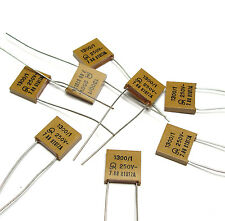 8x Jahre Glimmer-Kondensator 1.3 nF / 1 % / 250 Volt, High-End Mica Capacitor