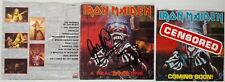 IRON MAIDEN - A REAL DEAD ONE CD SIGNED HARRIS & GERS アイアン・メイデン FEAR OF DARK