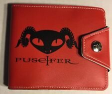 PUSCIFER PAUL FRANK RED LEATHER WALLET LE #4 of 150 TOOL band A PERFECT CIRCLE $