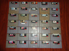 35 lot snes super nintendo  games, baseball, nba jam