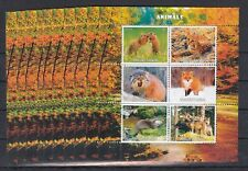 PL30 - 10x Animals Wild Nature Fox Wolf - perf - Privat Local Issue not MNH