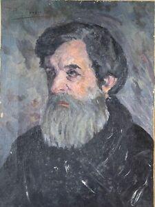 PABLO PICASSO HANDSIGNIERT - Porträt des Vaters -