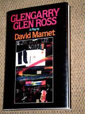 HARDCOVER w/JACKET 1st PRINTING Glengarry Glen Ross A Play by David Mamet V RARE