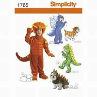 Schnittmuster Kinder- und Hundekostüm Gr.97-132