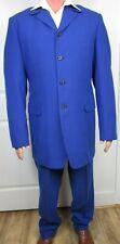 Vintage Custom Tailored 1970's Mens Dress 2 Piece Suit Korean Made Jacket Pants