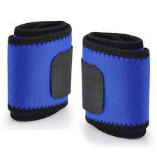 Negro / Azul Magnetic Muñequera Abrazadera Apoyo Dolor Carpiano Envuelve Venda