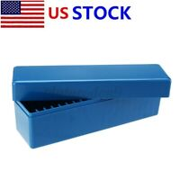 Blue Storage Box Case Holds 20PCS Certified PCGS, NGC, ICG Slabs Coin Holders U