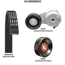 Dayco D60855K2 Serpentine Belt Drive Component Kit