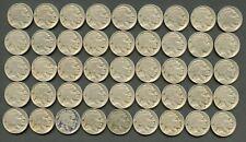 États-unis plein De 45 Complet Daté Buffalo Nickels 30 x 1926 & 15x 1927