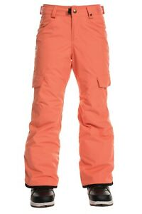 686 Girl's LOLA Insulated Snow Pants - Coral - XL - NWT