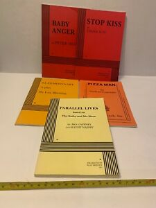 5 Dramatists Play Service Books Baby Anger Stop Kiss Pizza Man Parallel Lunes 5
