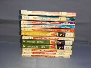Lot Of 12 Choose Your Own Adventure Vintage Children's Books 10 1st Editions
