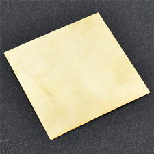 1pc Brass Metal Yellow Copper Thin Sheet Metal Craft 10cm*10cm*0.5mm Hot Sale