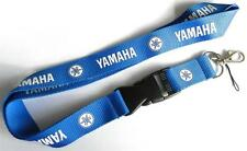 MOBILE PHONE/IDENTITY CARD LANYARD NECK STRAP BLUE WITH LOGO MOTIF (YMHA)