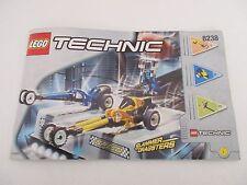 Manuel Instructions LEGO TECHNIC - 8238 SLAMMER DRAGSTERS