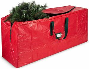9FT Christmas Tree Storage Bag Xmas Decorations Zip Up Store Bag With Handles