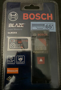 NEW!!! Bosch Blaze GLM 20 X 65ft Laser Measure
