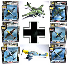 Easy Model - 1:72 Scale Luftwaffe German Fighter Aircraft of WW2 - Painted Built
