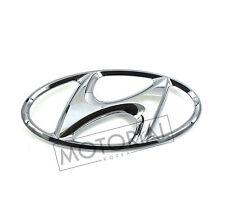 2007-2012 HYUNDAI SANTA FE Genuine Rear Trunk Lid H Logo Emblem