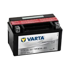 Varta Powersports AGM ytx7a-4 ytx7a-bs Batería de la Motocicleta 6ah 12v