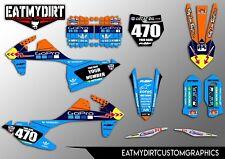 KTM SX 125 150 SXF 250 350 450 2016-18 CUSTOM GRAPHICS MX DECALS MOTOCROSS