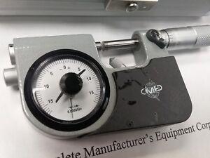 """0-1"""" Indicating Micrometer, Indicator Snap Micrometer, 0.00005"""" ,#414-755--NEW"""