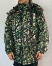 Cabelas Dry Plus 3D Jacket Mens XLT Tall Hunting Camo Hooded Fleece Jacket
