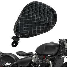 Motorrad Solo Sitz Schwingsattel mit Sitzfeder für Sportster Chopper