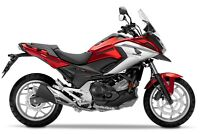 KIT ADESIVI CARENA HONDA NC 750 X ARROW STYLE FS-NC750X (Red)