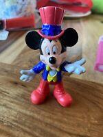 """Vintage 90s (Disney) """" MICKEY MOUSE """" Epcot Center PVC (Patriotic) Figure 4"""""""