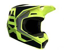 Fox Racing V1 Prix Helmet Black/Yellow 23976-019