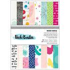 American Crafts Vicki Boutin Mixed Media Card Making Paper Pad