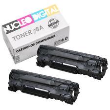 Toner genérico negro non-oem HP 78A CE278A para usar en impresoras HP Laserjet