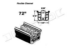 Flexible Glass-Run Channel, Fits:1933-1960 Buick, Cadillac, Pontiac and more