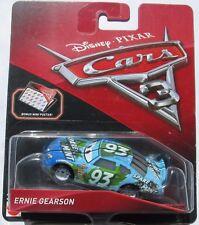 CARS 3 - ERNIE GEARSON racer SPARE MINT TEAM -  Mattel Disney Pixar